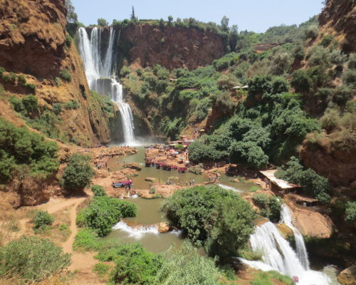 Marrakech Ouzoud watermills day Trip