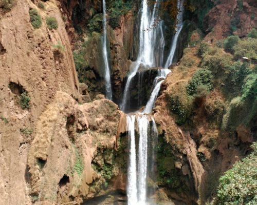 Desde marrakech a Cascadas de Ouzoud