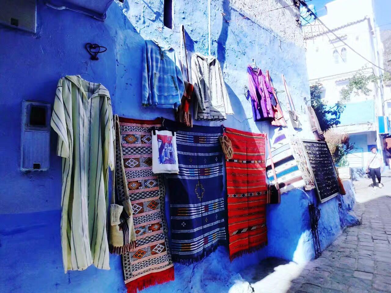 los colores y los olores de Marruecos